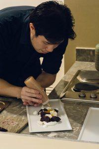 Kayu's Chef Izzy Sy