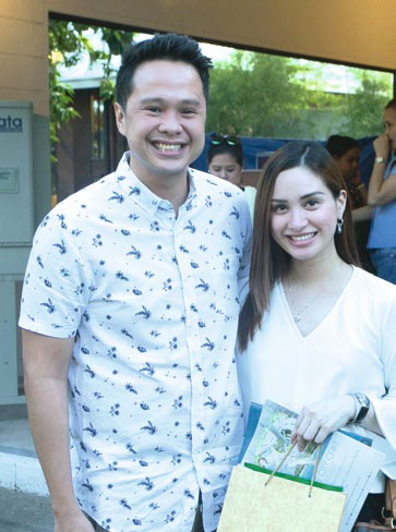 Jumbo and Marian Grace Climaco